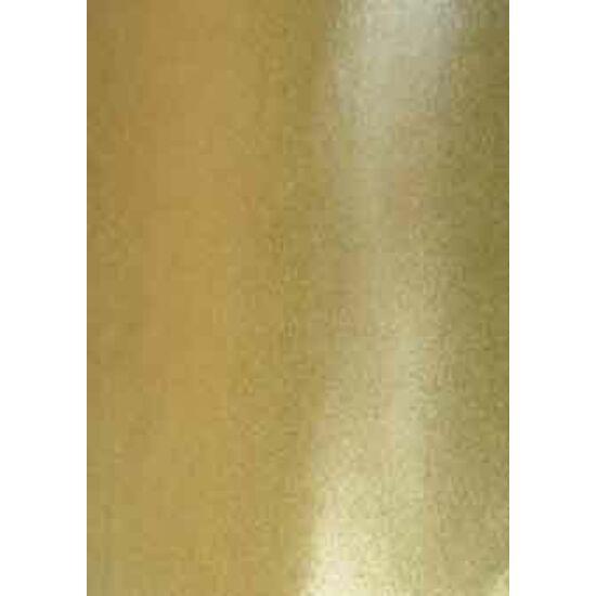 Arany metál laminált táncruha anyag