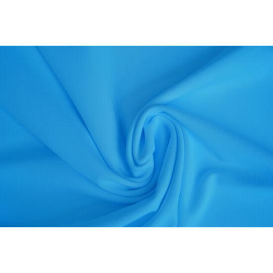 2117 Soft Cyan mikroszálas (mikrofibra) fitneszruha anyag, 230 gr, fogás és színminta 30x30 cm