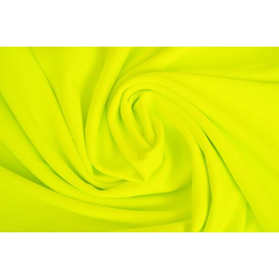 2117 Yellow fluo mikroszálas (mikrofibra) fitneszruha anyag, 290 gr