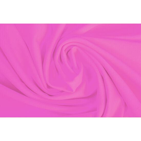 Rosa shocking poliamid elasztán fürdőruha anyag, matt, 170 gr