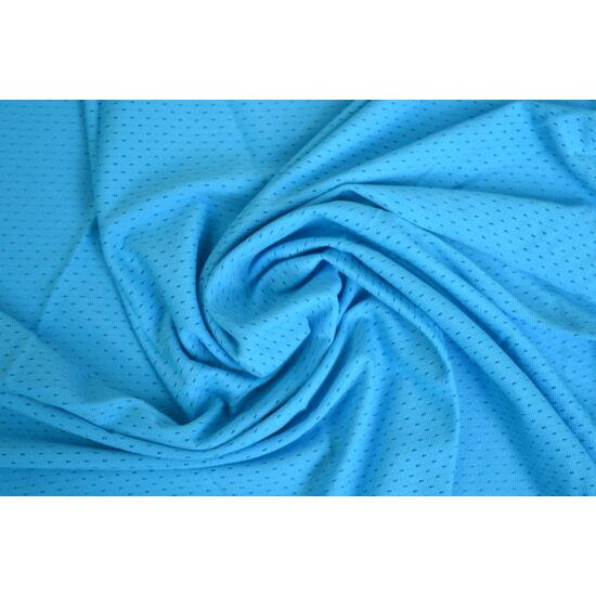 Light Blue lyukacsos fitneszruha anyag