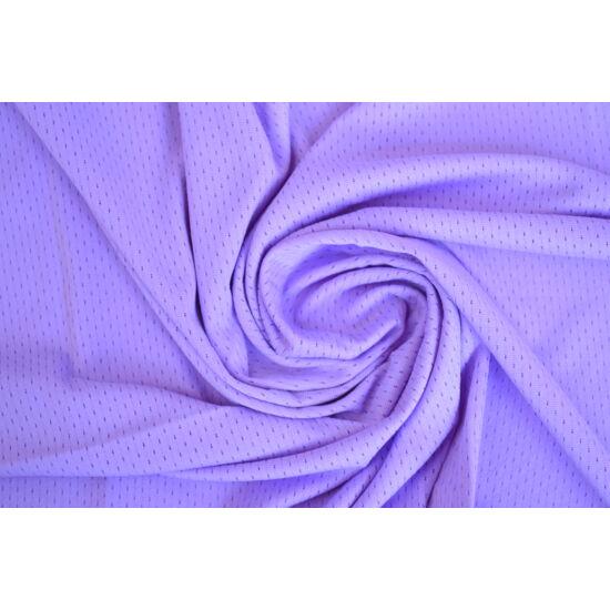 Milky lila lyukacsos fitneszruha anyag, fogás és színminta 30x30 cm