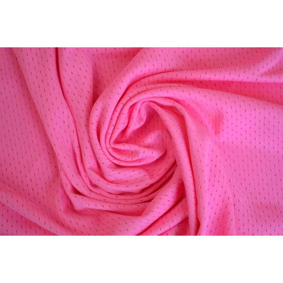 Baby Rose lyukacsos fitneszruha anyag, fogás és színminta 30x30 cm