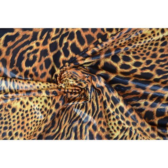 Leopárd lakkos laminált anag