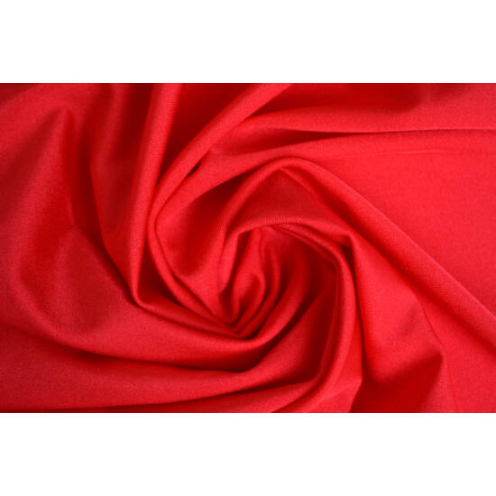 Carminio poliamid elasztán fürdőruha anyag, fényes, 170 gr, fogás és színminta 30x30 cm