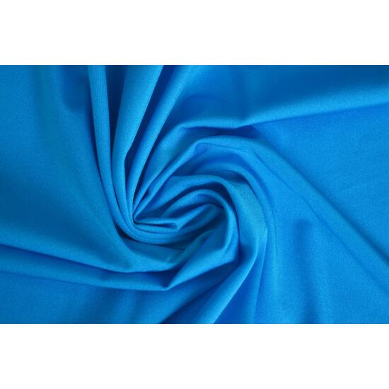 Turchese poliamid elasztán fürdőruha anyag, fényes, 170 gr