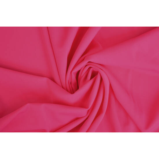 Magenta poliamid elasztán fürdőruha anyag, matt, 170 gr, fogás és színminta 30x30 cm